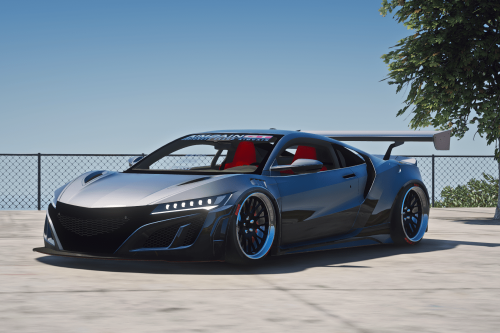 2017 Acura NSX Aimgain Kit [Add-On / Replace | FiveM ]
