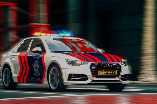 2017 Audi A4 Indonesian Police [Livery]