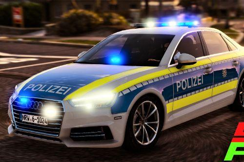 2017 Audi A4 Quattro | Polizei NRW