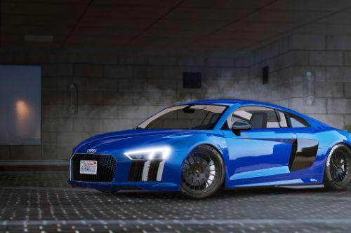 2017 Audi R8 [Add-On / Replace | Wipers | Tuning]