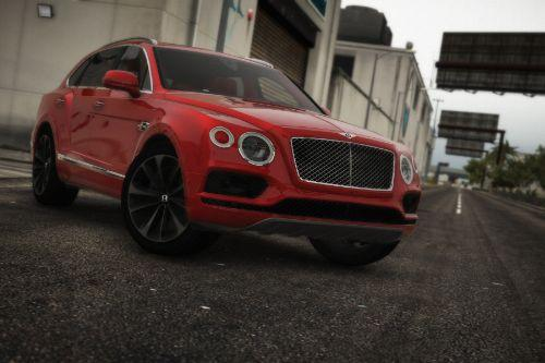 2017 Bentley Bentayga [Add-On | Tuning | Analog-Digital Dials]