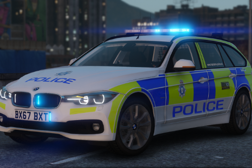 2017 BMW 330D Touring - Hartshire Police