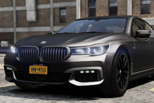 BMW M760i 2017[Add-On / Replace]