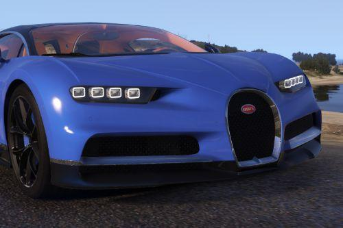 2017 Bugatti Chiron [Add-On / Replace]