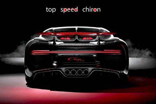 Bugatti Chiron Pack Handling - Top Speed