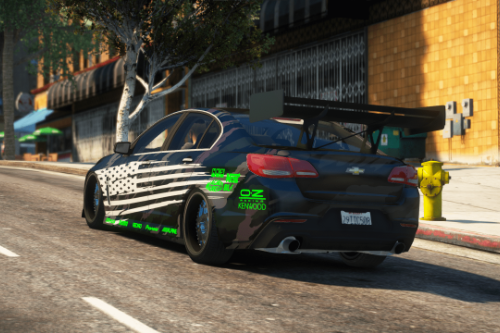 2017 Chevrolet SS Drift/Time Attack [Replace / FiveM]