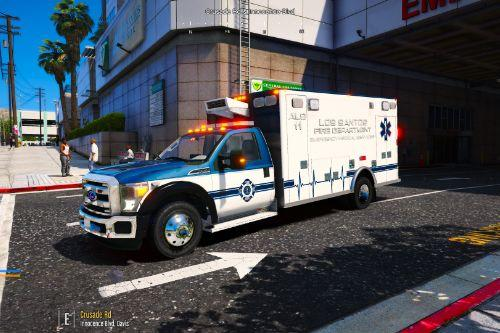 2015-2016 Ford F450 SuperDuty Single Cab Ambulance ALS-11