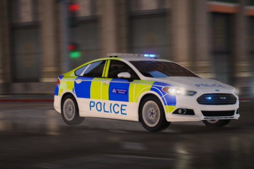 2017 Ford Mondeo Fictional Police Car