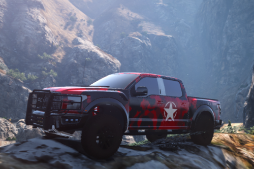 2017 Ford Raptor Military Liverys