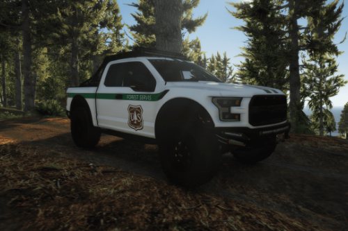 2017 Ford Raptor Scorpio || Forest servis paintjob