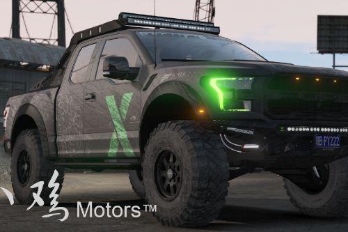 2017 Ford Raptor Scorpio [Add-On | Extras | Template]