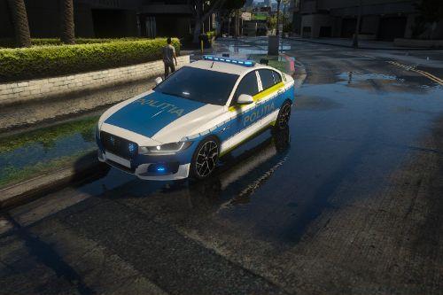 2017 Jaguar Politia Romana Design Nou