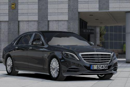 2017 Maybach S600L (add-on)