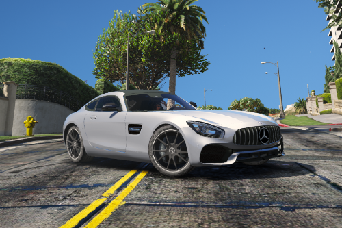 2017 Mercedes AMG GTS Face Lift [Add-On / Replace]