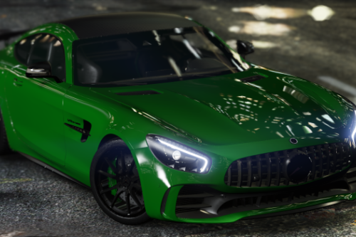 2017 Mercedes-Benz AMG GT-R [Add-On | Template]