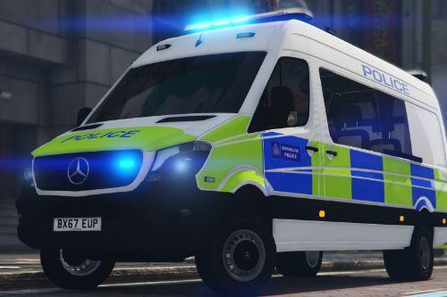 2017 London Metropolitan Police Borough Support Unit [ELS]