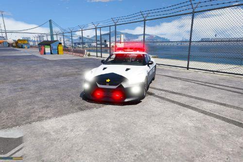 2017 Nissan GTR Japanese police[Replace]