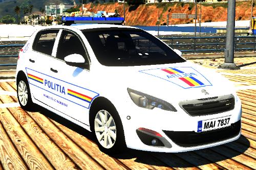 2017 Peugeot 308 Politia Romana [REPLACE] [ELS]