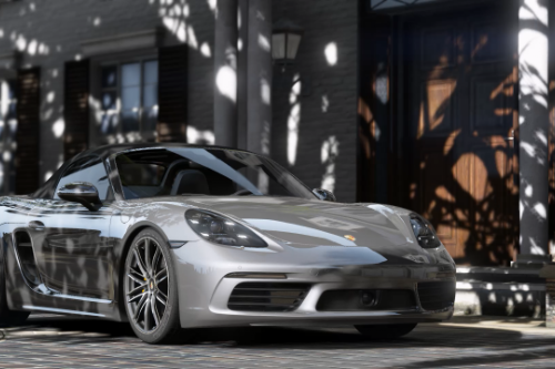 2017 Porsche 718 Boxster S [Add-On | Animated Roof | Template]