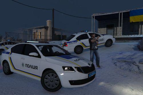 🇺🇦 Національної Поліція України 2017 Škoda Octavia III (Patrol Police Ukraine)