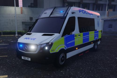 2017 Sussex Police Mercedes Sprinter Skin (British Police)