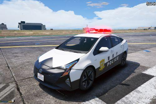 2017 Toyota Prius Japanese police  [Add-On / Replace]