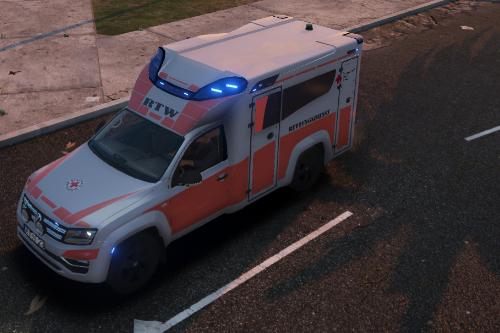 2017 Volkswagen Amarok - German Ambulance