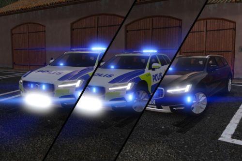 2017 Volvo V90 Cross Country Swedish Police Pack | ELS