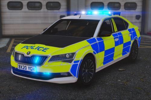 2018/2019 Police Skoda Superb [Replace | ELS]