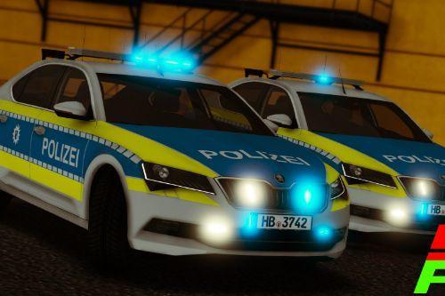 2018/2019 Skoda SuperB | Polizei Bremen [2 Versions]