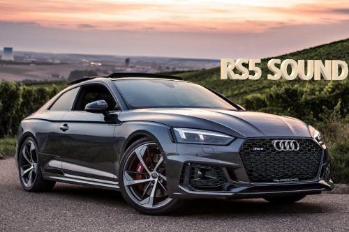 2018 Audi RS5 sound (DSG)