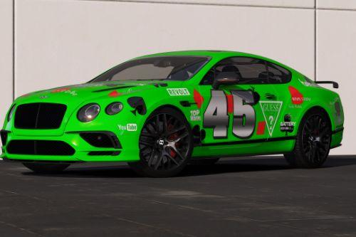 [2018 Bentley Continental GT Supersports]Gumball 3000 livery