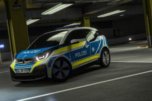 2018 BMW i3 Polizei Bayern [Livery | Fiktiv]