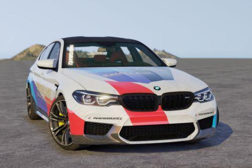 [2018 BMW M5 F90]M Performance livery