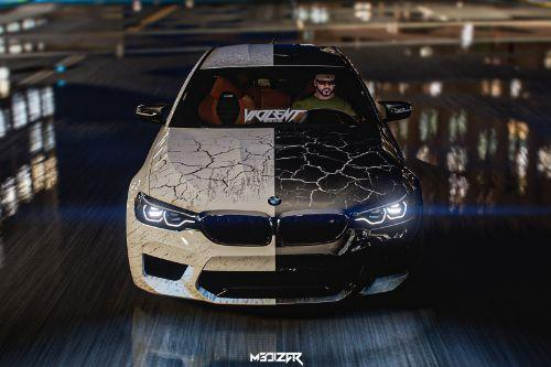 2018 BMW M5 F90 Paint job