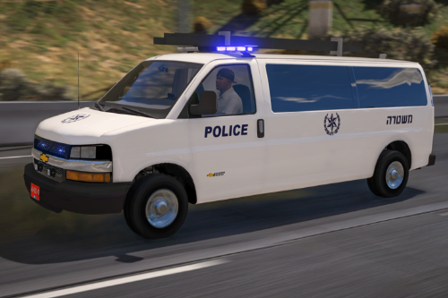 Chevrolet savana 3500 | Israeli Swat YaSam [ ELS | Add-On | Fivem Ready]