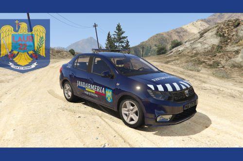 2018 Dacia Logan - Romanian Jandarmeria