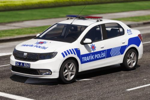2018 Dacia Logan Trafik Polisi [Reflektif] Turkish