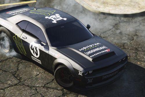 [2018 Dodge Challenger SRT Demon] Hoonicorn livery