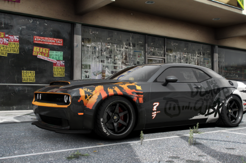 "Dodge Challenger SRT Demon ""OJBK"" Livery"