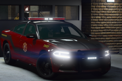 2018 Dodge Charger - Fire Command [Replace / FiveM]