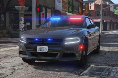 2018 Dodge Charger - Los Santos Police Department (LSPD / LAPD) - Unmarked (ELS)