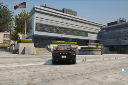 2018 Dodge Charger Police - Vancouver Police Department [Livery]