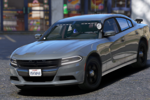 2018 Dodge Charger (R&B Liberty II) [Replace / FiveM]