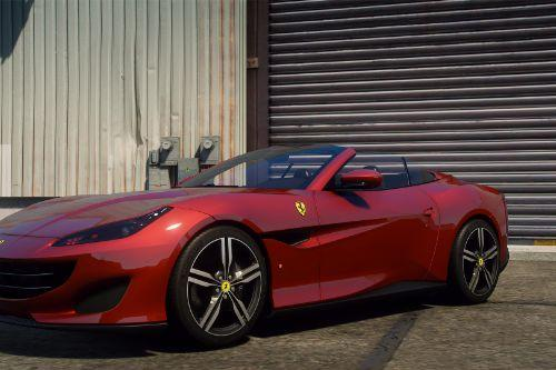 2018 Ferrari Portofino [Add-On | Extras  | Animated window | Template]