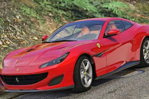 2018 Ferrari Portofino [Add-On | Replace | Animated Roof]