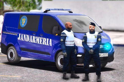 2018 Ford Transit Jandarmeria Romana