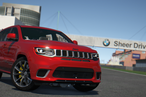 2018 Jeep Grand Cherokee Trackhawk Series IV [Add-On  Tuning]