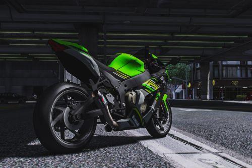 2018 Kawasaki ZX10R KRT Livery for Twatchai's ZX10R