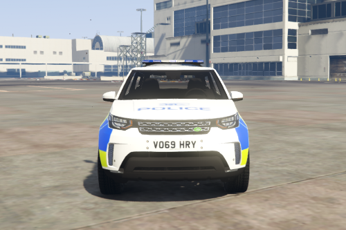 2018 Land Rover Discovery 5 British Police Car